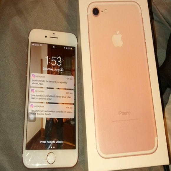 Iphone 7 (sprint) 32g (used)